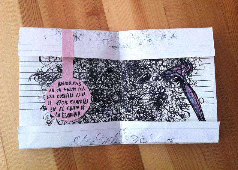 """<p><span style=""""color: #808080; font-size: 9pt;"""">Aniquilados en un minuti por una cuchilla rosa de 17 cm. comprada en el chino de la esquina."""